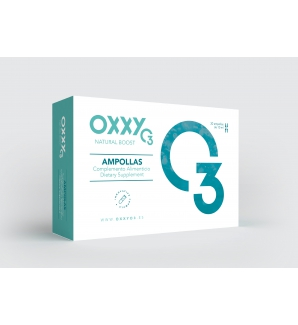 OXXYO3 ampollas 30 Amp. 10 ML USO INTERNO